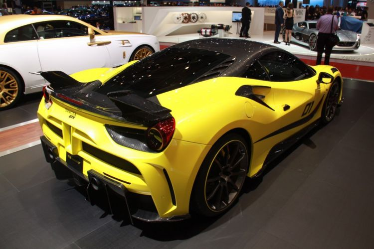 2016 Geneva Motor show Mansory Ferrari 4XX Siracusa cars modified wallpaper