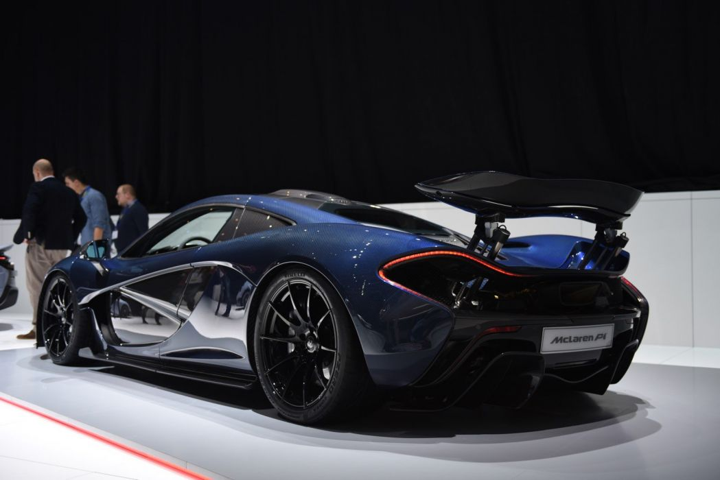 2016 Geneva Motor show Full-Carbon McLaren P1 by MSO cars modified wallpaper