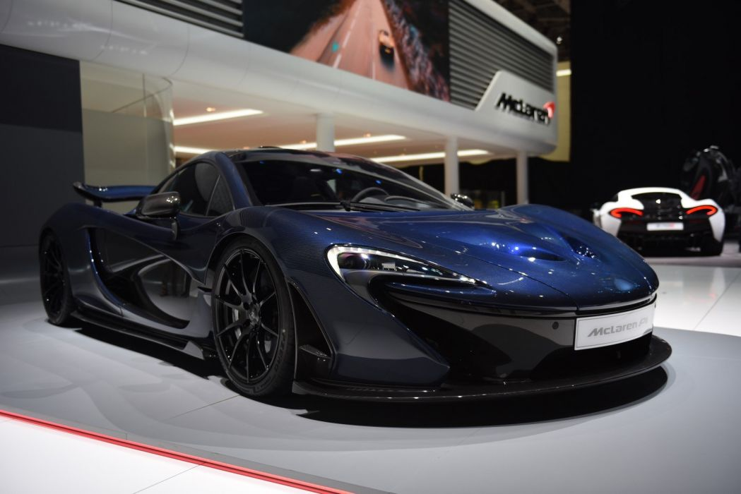 2016 Geneva Motor show Full-Carbon McLaren P1 by MSO cars modified wallpaper