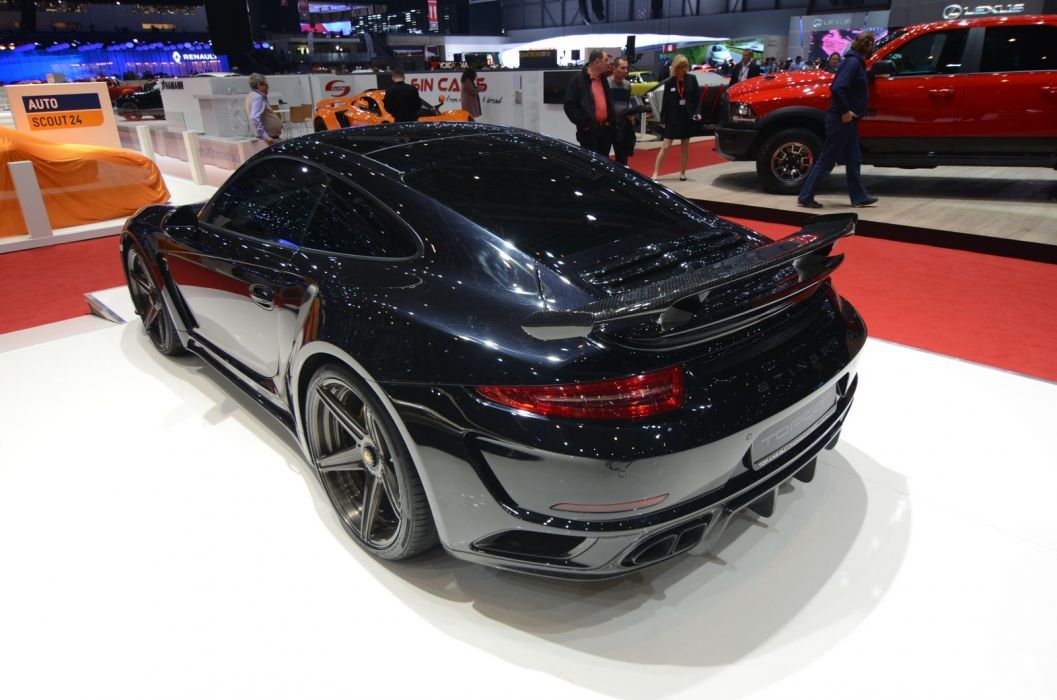 2016 Geneva Motor show TopCar Porsche 991 Stinger GTR Turbo cars modified wallpaper