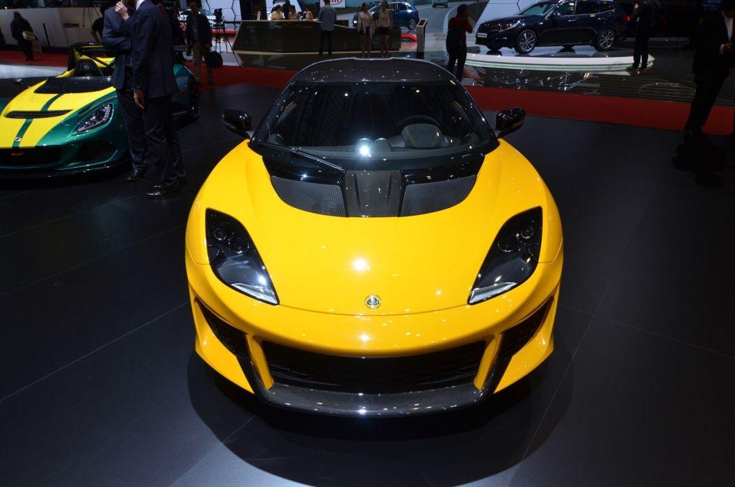 2016 Geneva Motor show Lotus Evora Sport 410 cars modified wallpaper