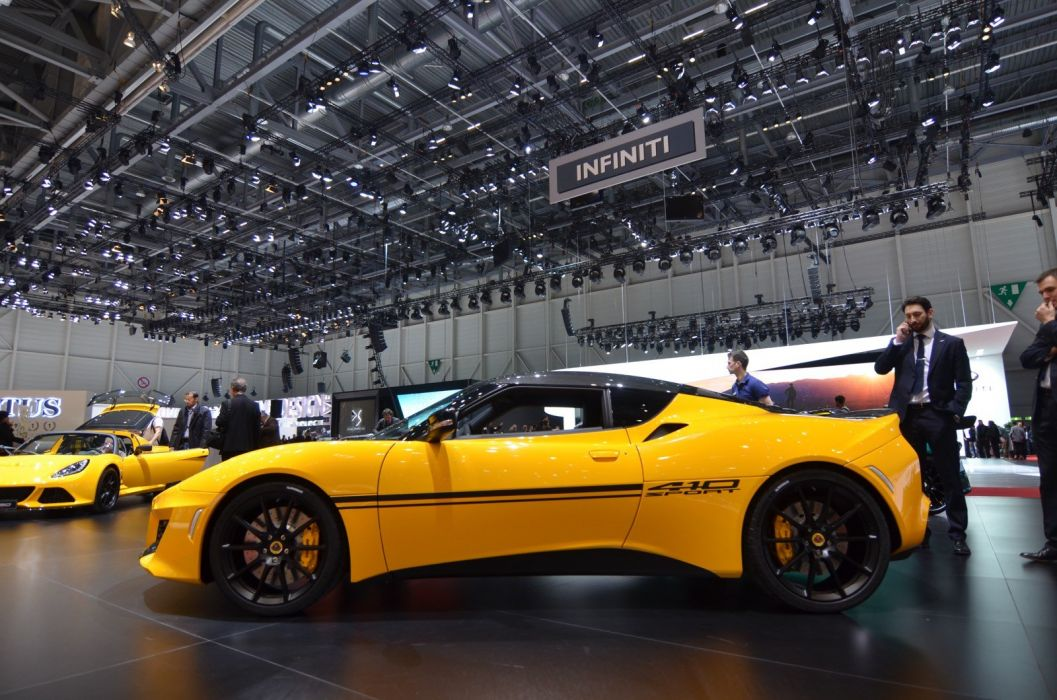 2016 Geneva Motor show Lotus Evora Sport 410 cars modified wallpaper