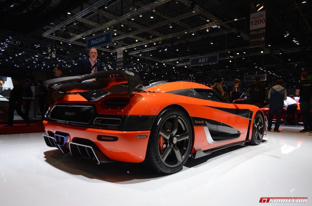 2016 Geneva Motor show Koenigsegg One of 1 cars modified wallpaper