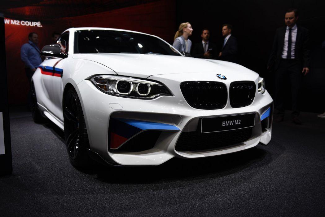 2016 Geneva Motor show BMW M2 BMW M Performance Parts cars modified wallpaper