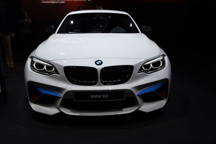 2016 Geneva Motor show BMW M2 BMW M Performance Parts cars modified wallpaper