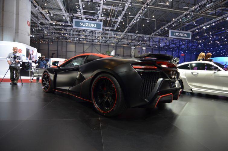 2016 Geneva Motor show FAB Design McLaren 650S VAYU GTR cars modified wallpaper