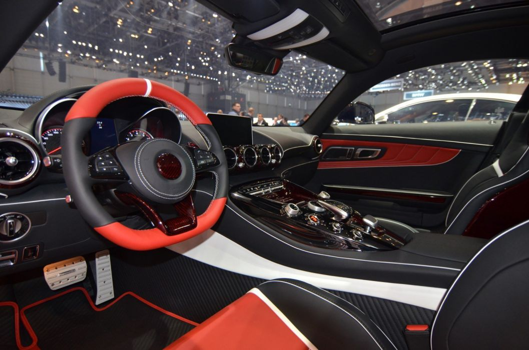2016 Geneva Motor show Mansory Mercedes AMG GTS cars modified wallpaper
