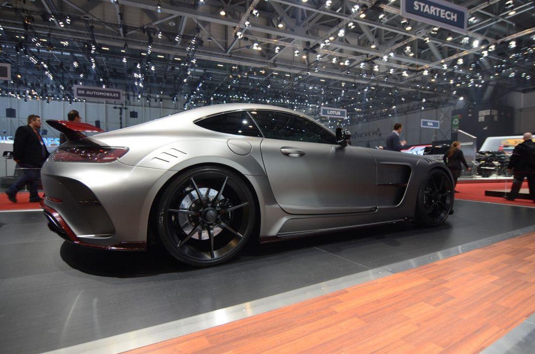 2016 Geneva Motor show Mansory Mercedes AMG GTS cars modified wallpaper