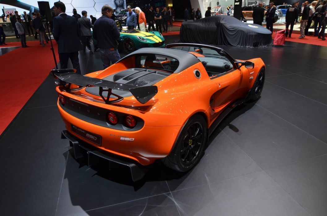 2016 Geneva Motor show Lotus Elise Cup 250 cars modified wallpaper
