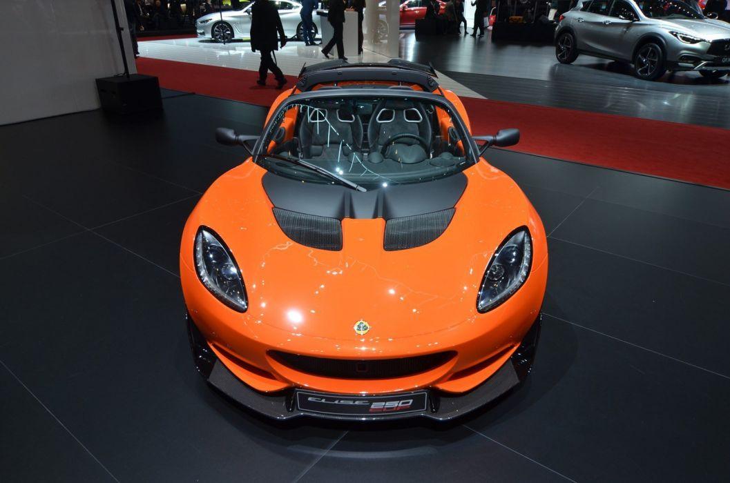 2016 Geneva Motor show Lotus Elise Cup 250 cars modified wallpaper