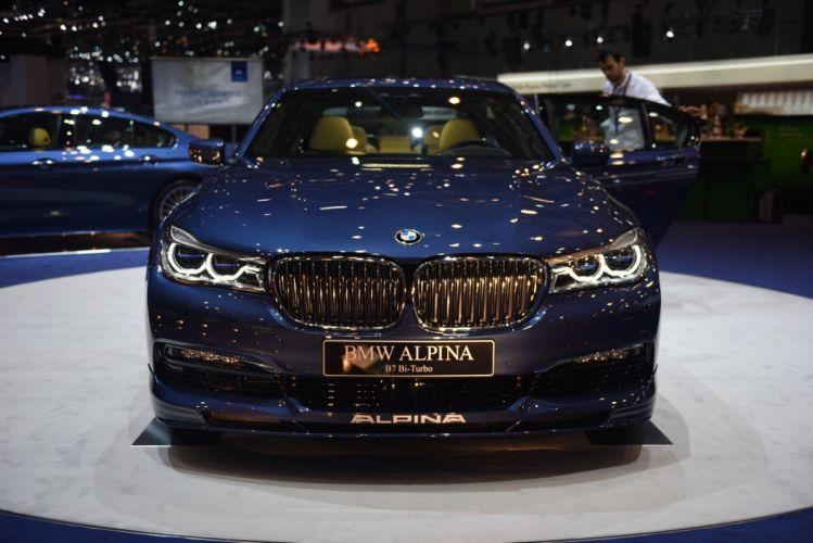 2016 Geneva Motor show Alpina B7 bmw cars modified wallpaper