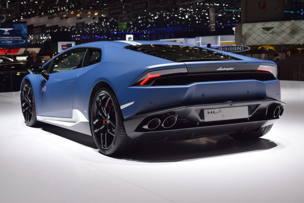 2016 Geneva Motor show Lamborghini Huracan Avio Pays Tribute cars modified wallpaper