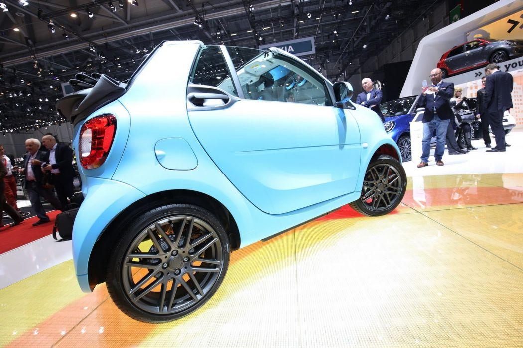 2016 Geneva Motor show Brabus Smart ForTwo cabrio cars modified wallpaper