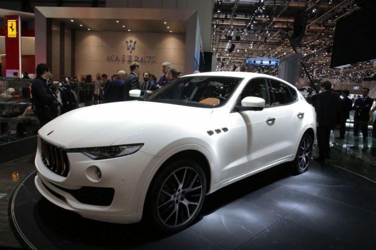 2016 Geneva Motor show Maserati Levante cars suv wallpaper