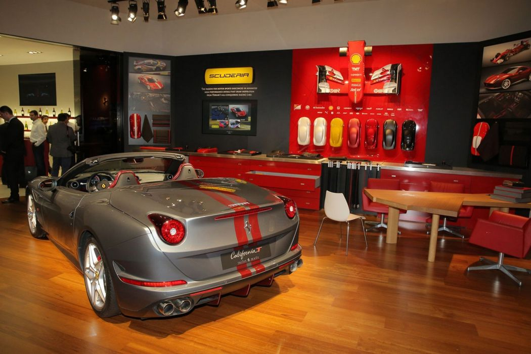 2016 Geneva Motor show Ferrari California T cars convertible wallpaper