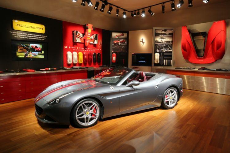 2016 Geneva Motor show Ferrari California T cars convertible wallpaper