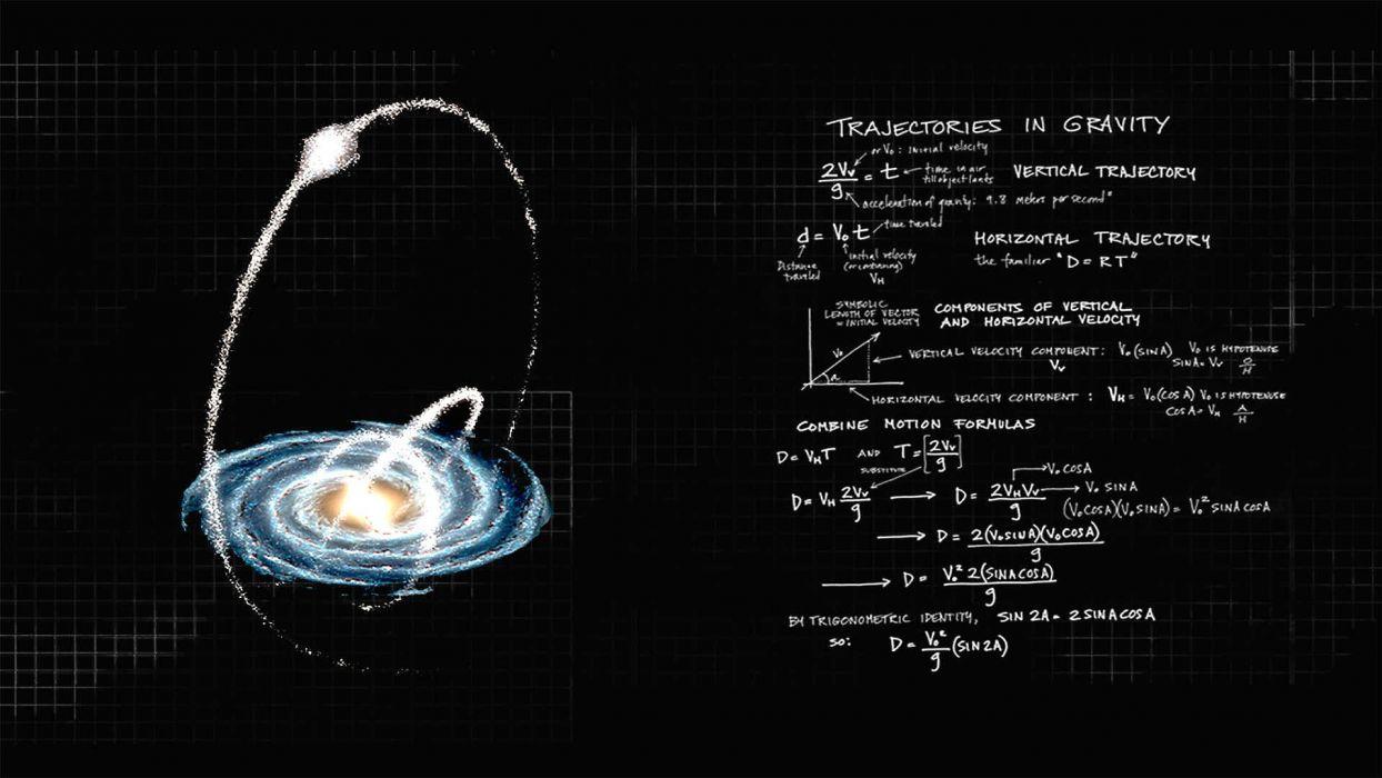 PHYSICS equation mathematics math formula poster science text typography wallpaper
