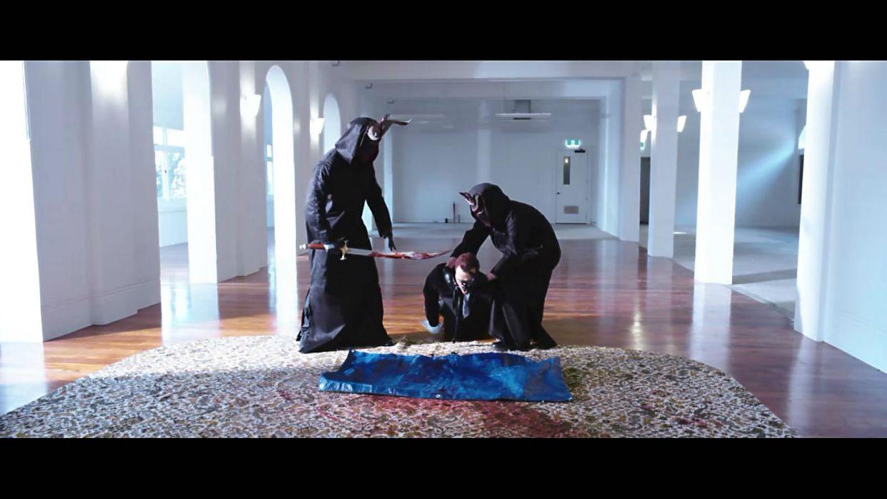 DEATHGASM dark horror evil thriller comedy heavy metal demon occult death zombie blood wallpaper