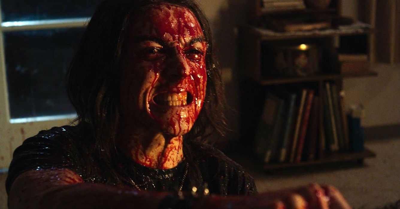 DEATHGASM dark horror evil thriller comedy heavy metal demon occult death zombie blood wallpaper