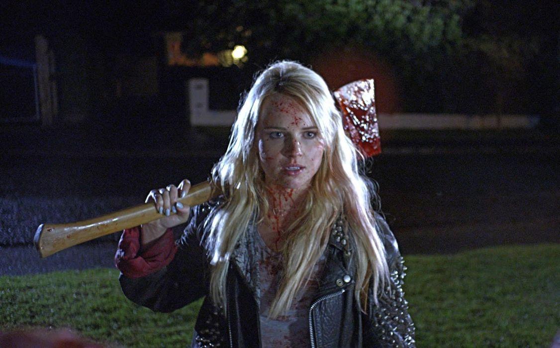 DEATHGASM dark horror evil thriller comedy heavy metal demon occult death zombie wallpaper