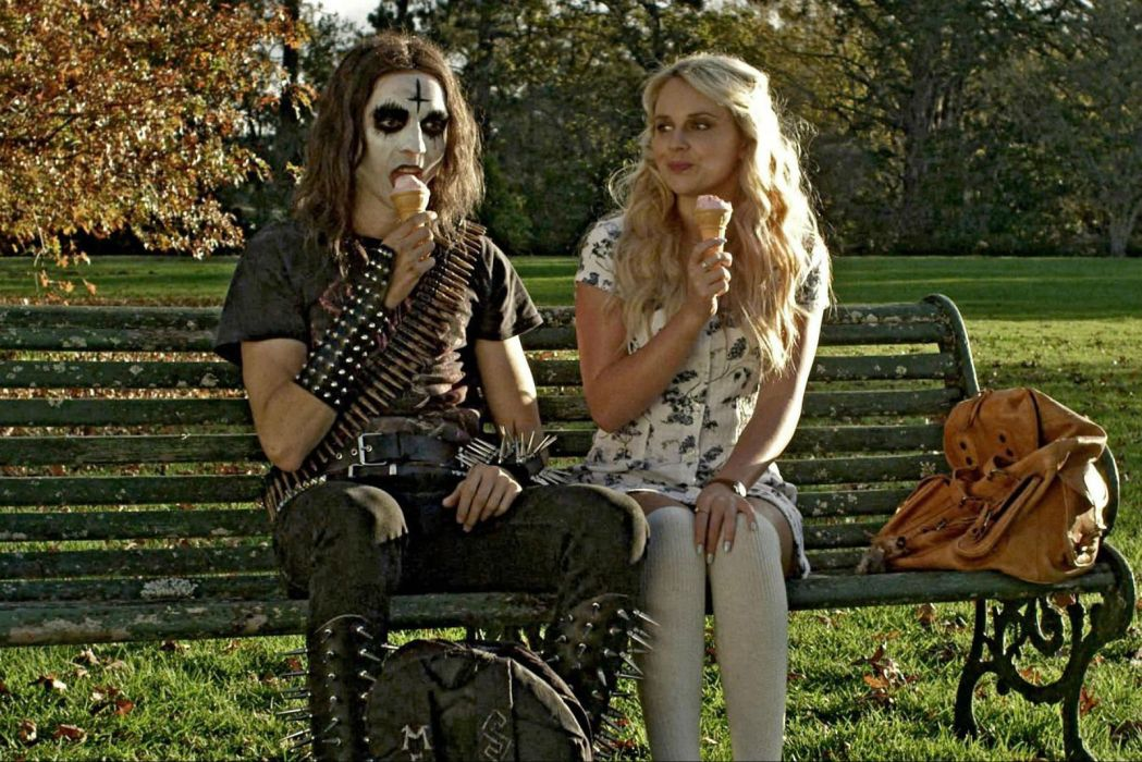 DEATHGASM dark horror evil thriller comedy heavy metal demon occult death zombie wallpaper
