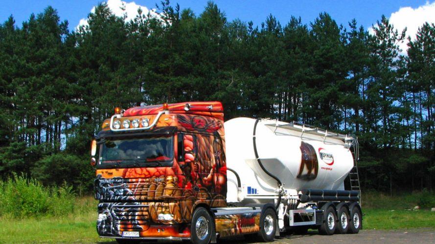 camion cisterna tuning transportes wallpaper