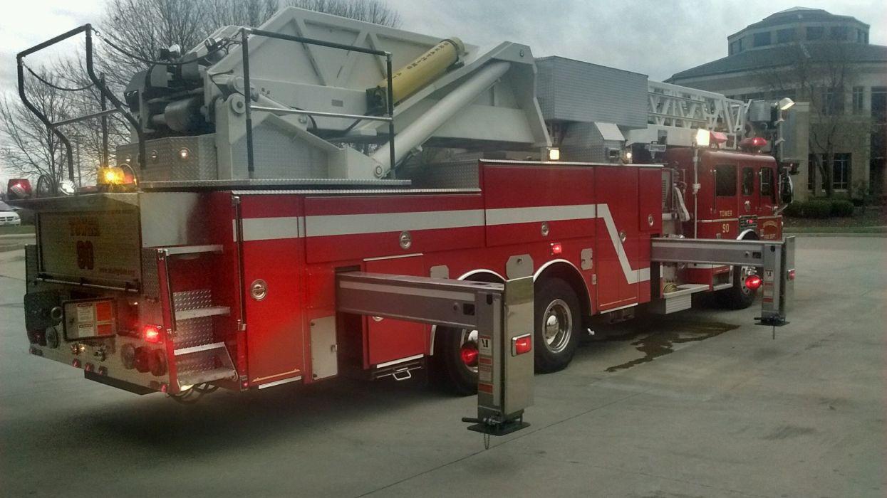 camion bomberos rojo vehiculo wallpaper