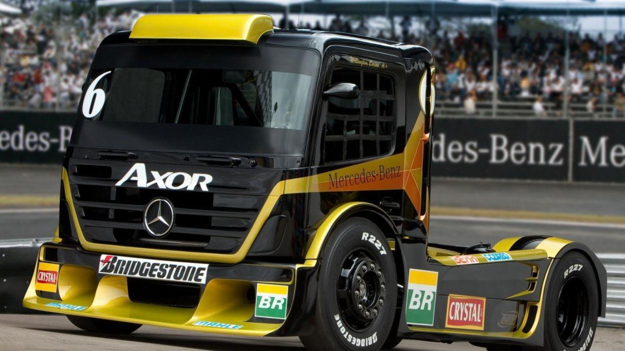 camion mercedez competicion carreras wallpaper