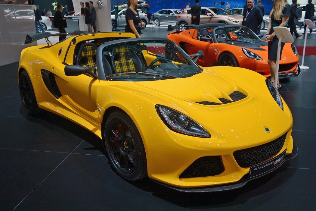 Geneve motor show 2016 Lotus Exige Sport 350 Roadster cars wallpaper