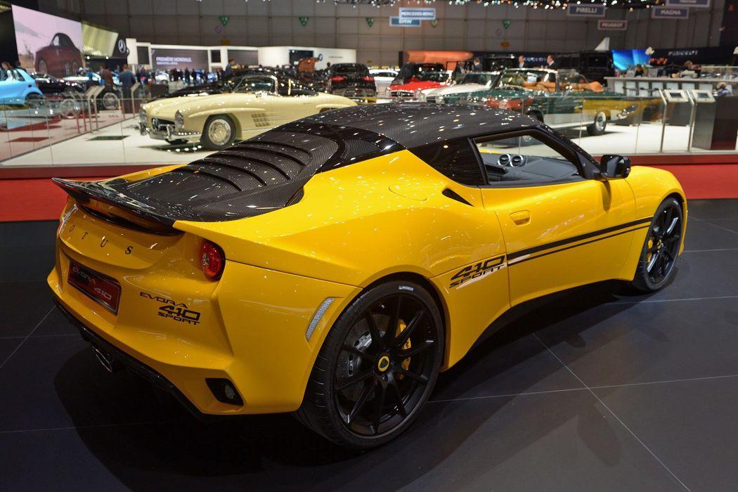 Geneve motor show 2016 Lotus Evora 410 Sport cars wallpaper
