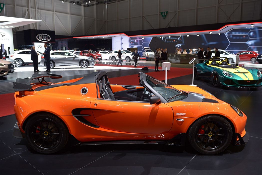 Geneve motor show 2016 Lotus Elise 250 Cup cars wallpaper