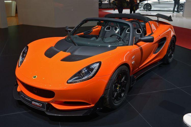 Geneve motor show 2016 Lotus Elise 250 Cup cars wallpaper