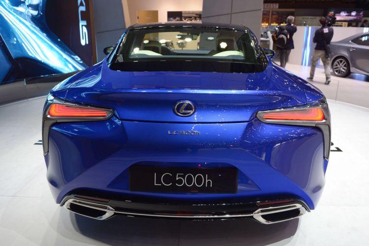 Geneve motor show 2016 Lexus LC 500h cars wallpaper