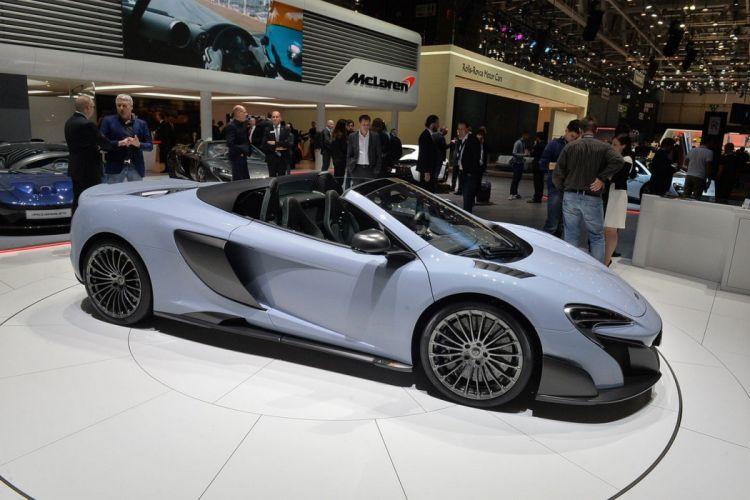 Geneve motor show 2016 McLaren 675LT Spider by MSO cars wallpaper