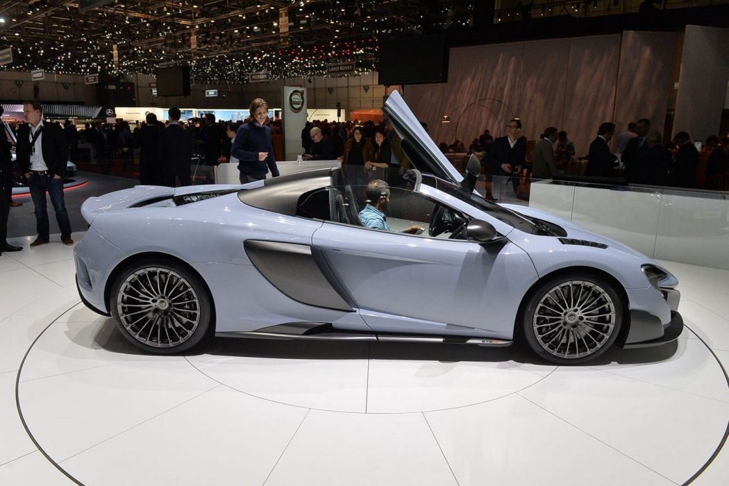 Geneve motor show 2016 McLaren 675LT Spider by MSO cars wallpaper