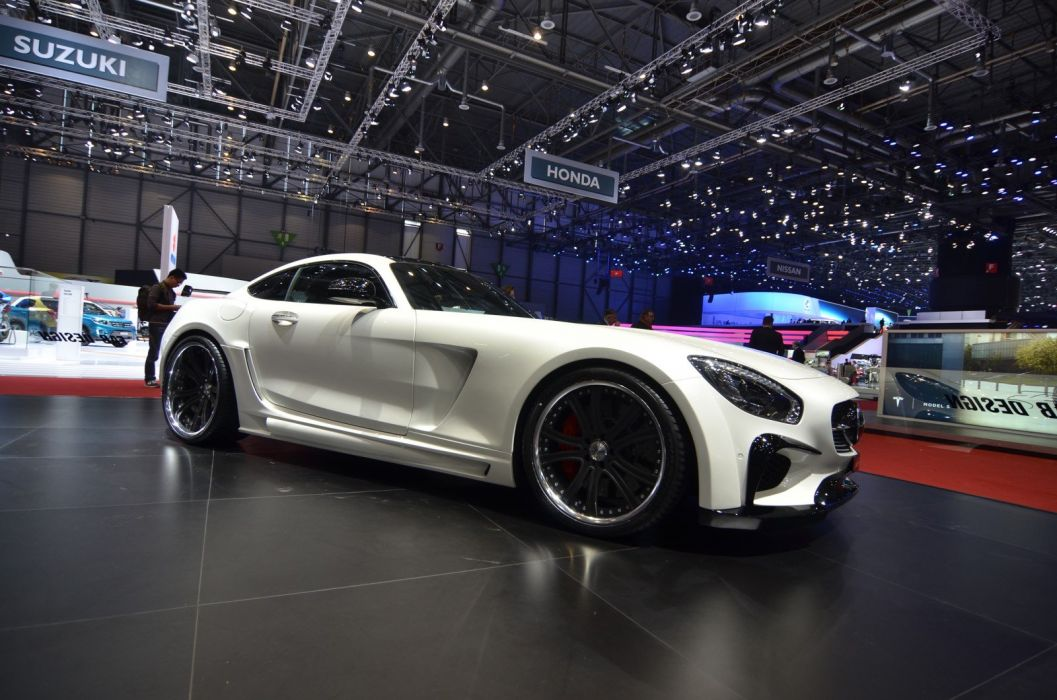 Geneve motor show 2016 Mercedes AMG GT Fab Design cars wallpaper