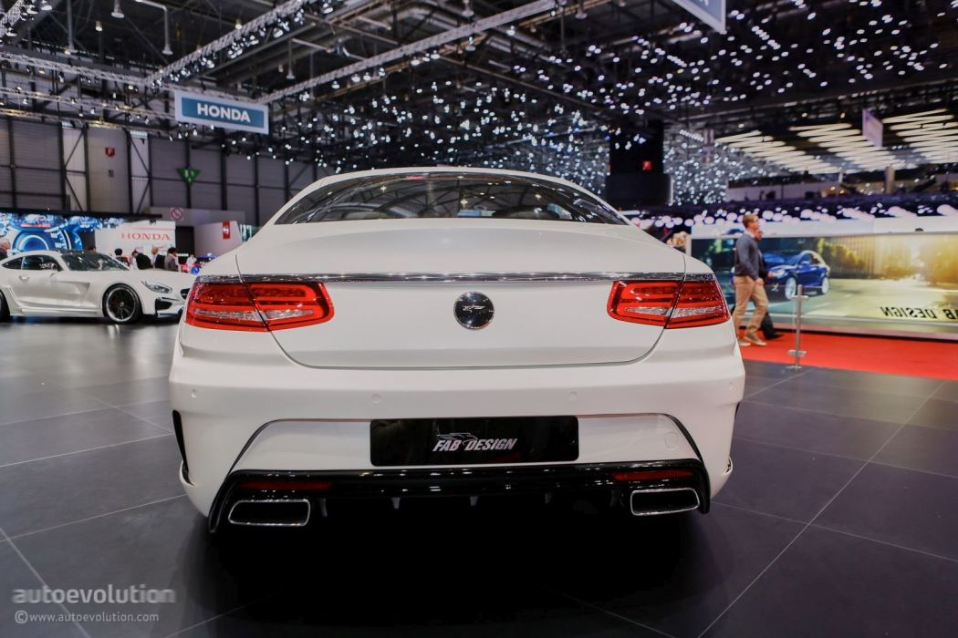Geneve motor show 2016 Fab Design Ethon mercedes AMG S63 Coupe modified cars wallpaper