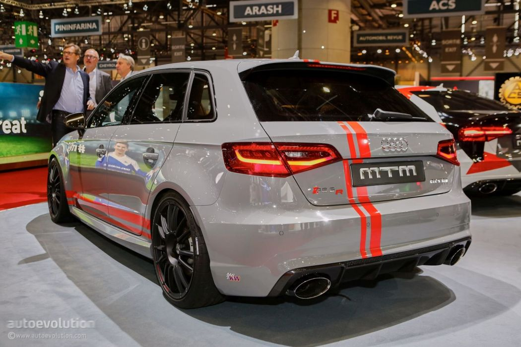 Geneve motor show 2016 MTM audi RS3-R modified cars wallpaper