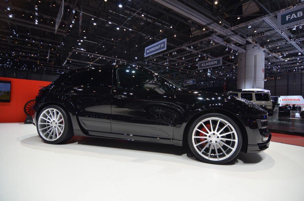 Geneve motor show 2016 Hamann Porsche Macan modified cars wallpaper