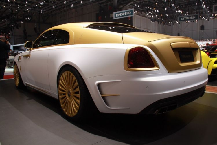 Geneve motor show 2016 Mansory Rolls Royce Wraith Palm Edition 999 cars modified wallpaper