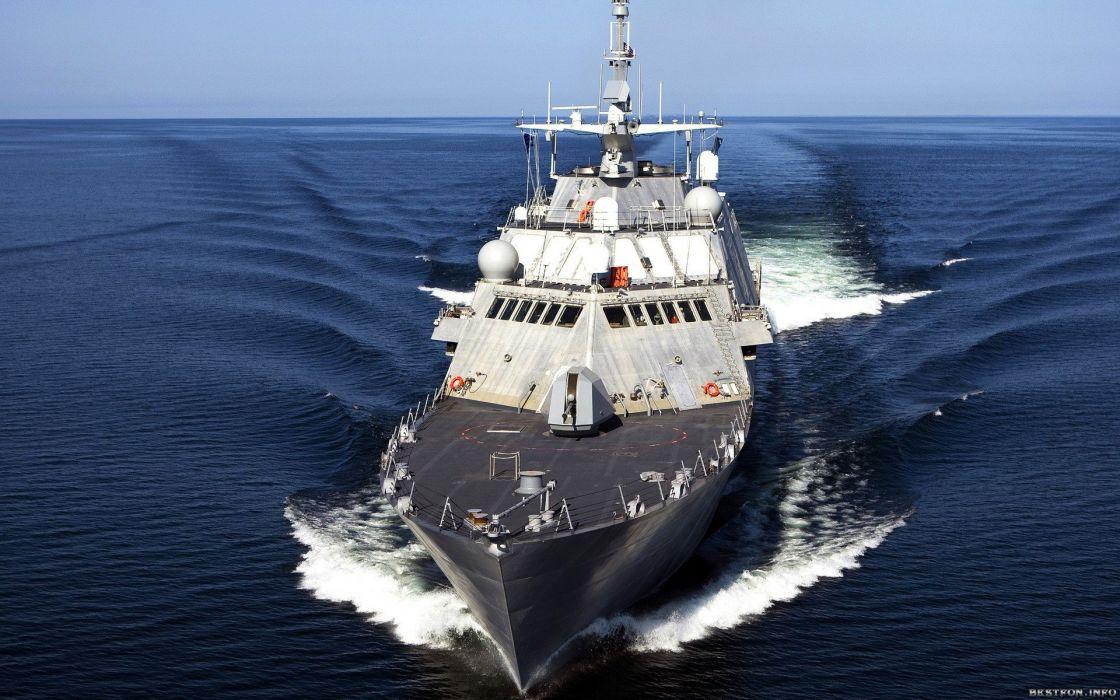 barco guardacostas oceano wallpaper