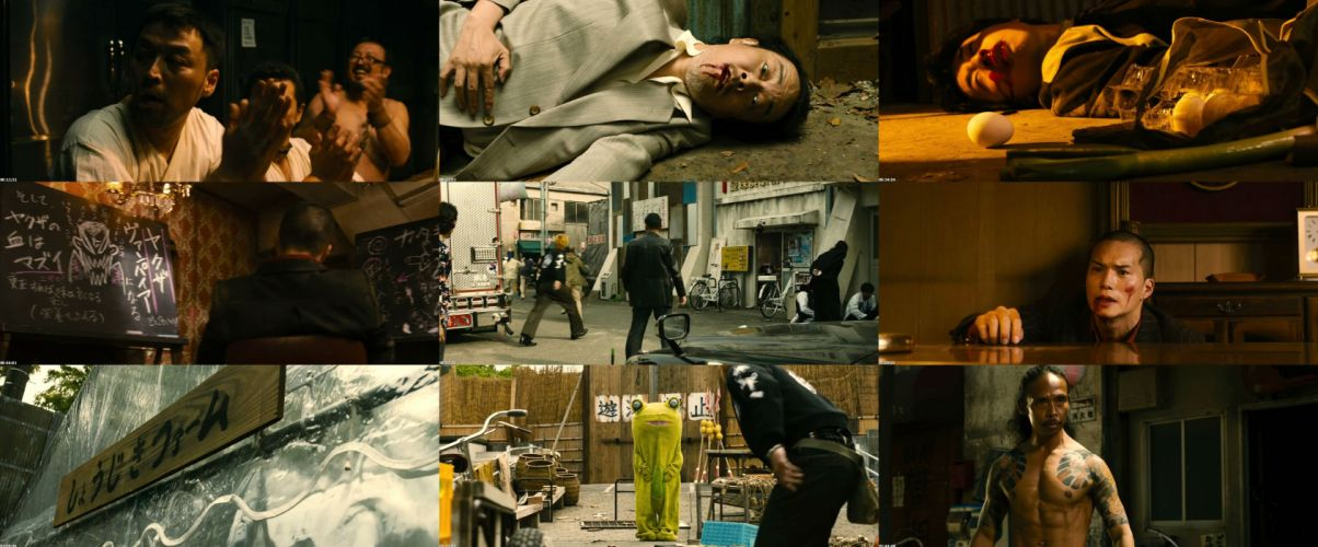 YAKUZA APOCALYPSE martial arts fighting fantasy vampire asian 1yapoc action warrior comedy horror dark wallpaper