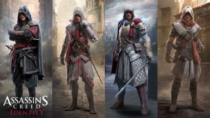 ASSASSINS CREED action fantasy fighting assassin warrior stealth adventure history poster wallpaper