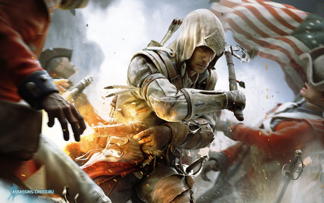 ASSASSINS CREED action fantasy fighting assassin warrior stealth adventure wallpaper