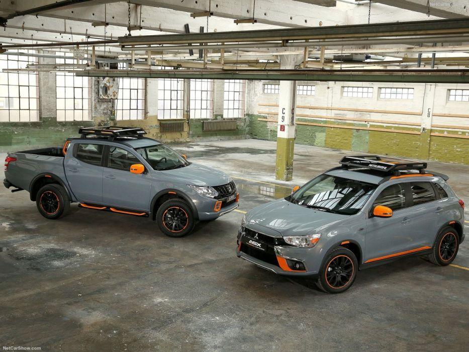 Mitsubishi L200 Geoseek Concept pickup cars 2016 wallpaper