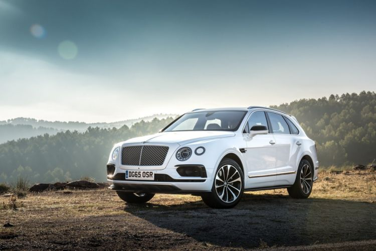 Bentley Bentaygas cars suv 2016 wallpaper
