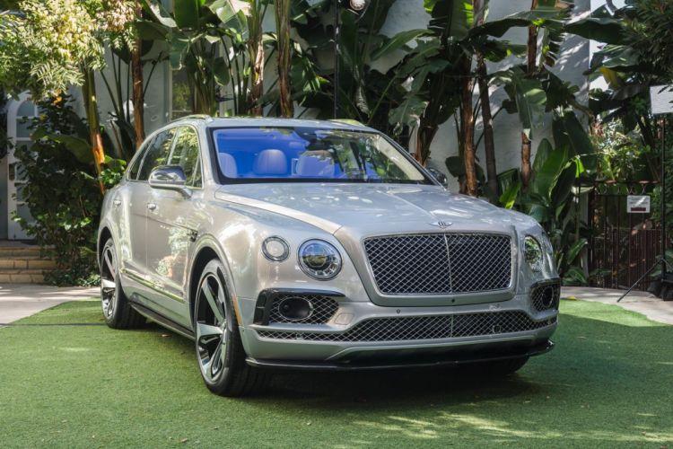 Bentley Bentaygas cars suv 2016 wallpaper
