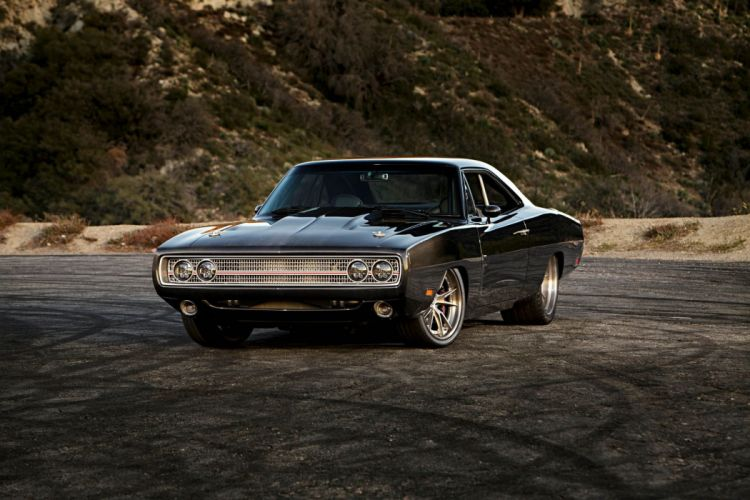 1970 Charger dodge coupe black cars modified wallpaper