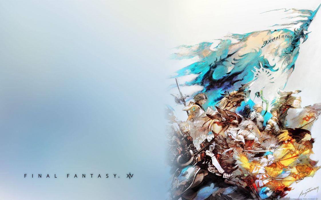 FINAL FANTASY action rpg fighting fantasy combat battle warrior perfect poster wallpaper