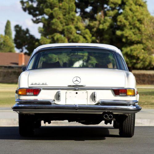 Mercedes Benz 280 SE Coupe US-spec (W111) cars classic 1968 1971 wallpaper